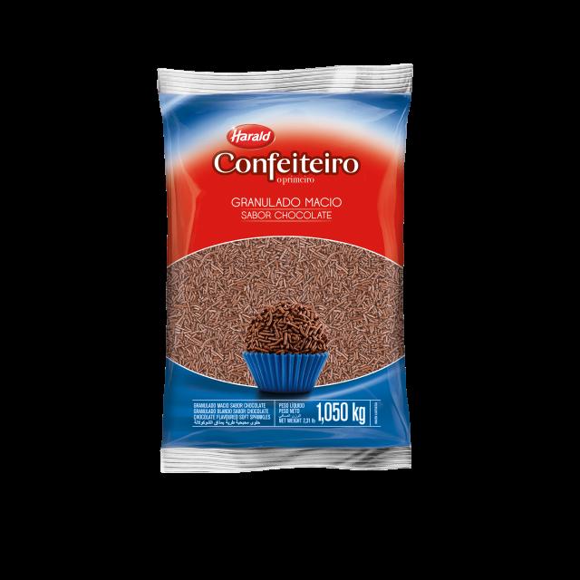 Granulado Macio sabor Chocolate Confeiteiro 1,050 kg