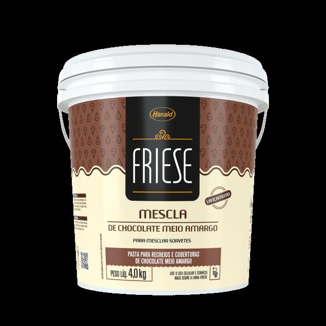 Mescla de Chocolate Meio Amargo Friese 4,0 kg