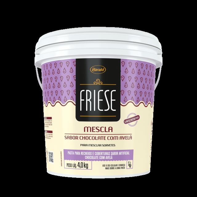 Mescla de Chocolate com Avelã Friese 4,0 kg