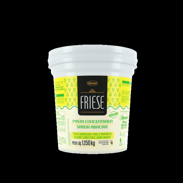 Pasta Saborizante sabor Abacaxi Friese 1,150 kg