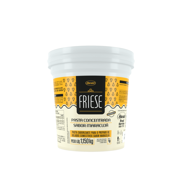 Pasta Saborizante sabor Maracujá Friese 1,150 kg