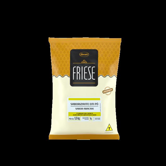Saborizante em Pó sabor Abacaxi Friese 1,0 kg